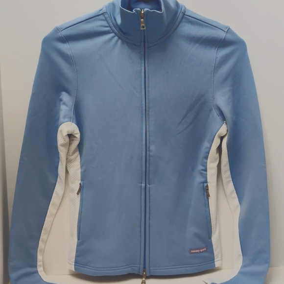 Tommy Sport ~ W-XS ~ double zip ~ workout jacket